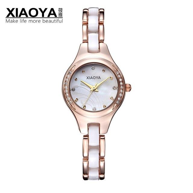 Armbanduhr Mode Bügel Relogio Uhren Frauen 8xiaoya Armband Damen Us13 Business Wasserdicht Quarz In Ceramic Xiaoya Marke bf6ygIY7v