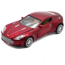 1:32 Aston Martin Alloy Super Racing Car Diecast Six Doors Model Sound&Light Collection Toys For Boy Children Hot Gift Wheels