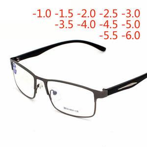 ec9dd7fd98ac Finished Myopia Glasses For Women Men Metal Frame