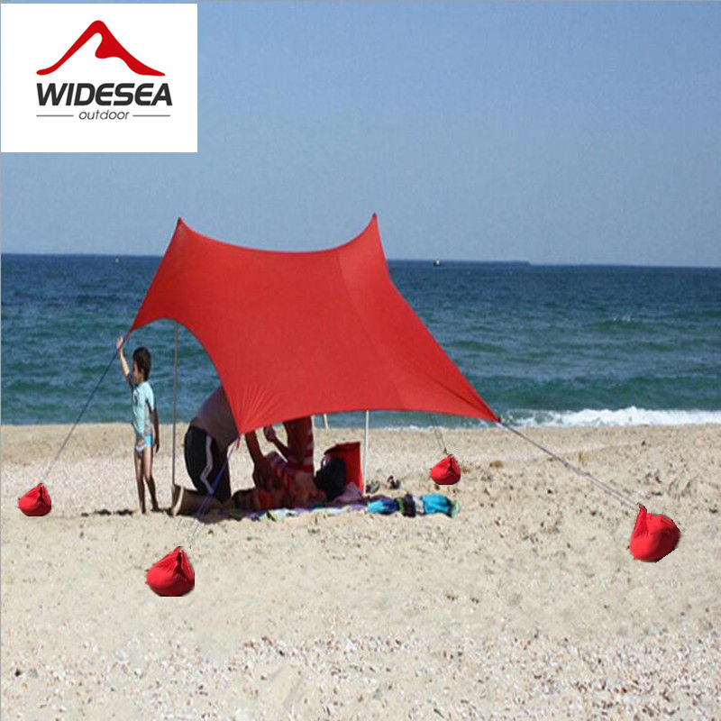 2017 NEW design lycra seabeach sun shelter 1.5M*2.1M camping tent beach tent UPF 50+ 4 sandbags &4 ropes sun awning canopy tarp portable large beach camping tent waterproof canopy sun shelter outdoor awning party roof top tarp hiking family barraca gazebo