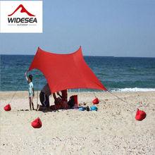 2017 NEW design lycra seabeach sun shelter 1.5M*2.1M camping tent beach tent  UPF 50+ 4 sandbags &4 ropes sun awning canopy tarp
