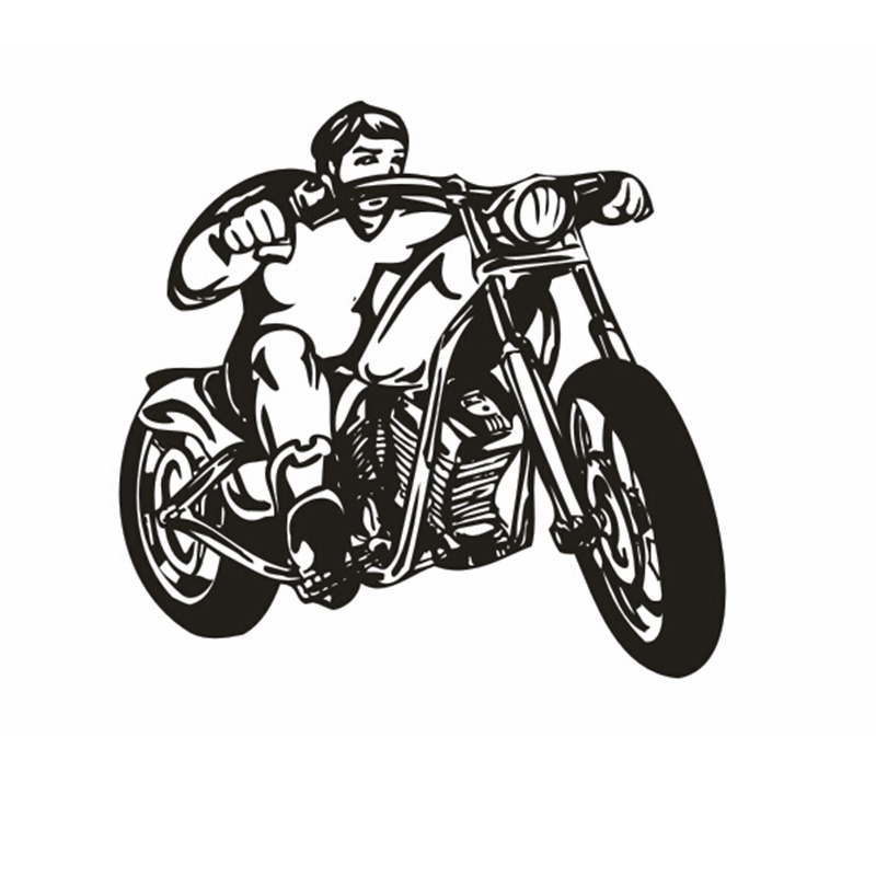 Motorcycle Sticker Vehicle Decal Classic Punk Posters