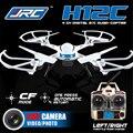 JJRC H12C 2.4G 4CH 6-Axis Gyro Modo CF Uma Imprensa retorno RTF RC Quadcopter Drones Profissionais com 1080 P Câmera 5.0MP HD