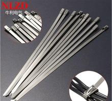 100Pcs S316 Edelstahl Metall Kabelbinder w = 7,9mm Zip Strap Locking Auspuffrohr Header 6 zoll zu 10 zoll 16 zoll 22 zoll 28 zoll