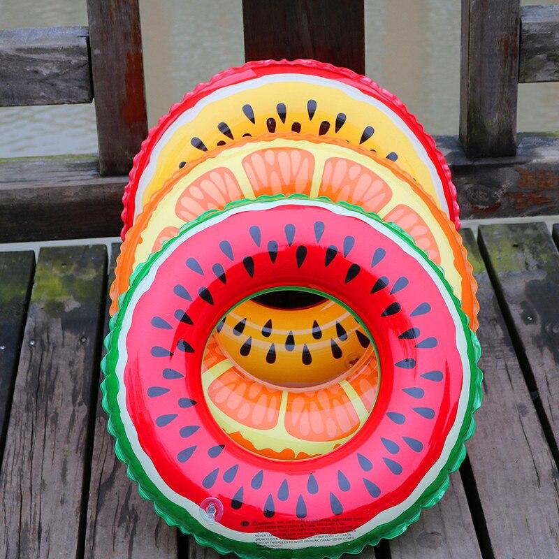 Gonflable Donut Natation Anneau Piscine Flotteur pastèque gonflable - Sports nautiques