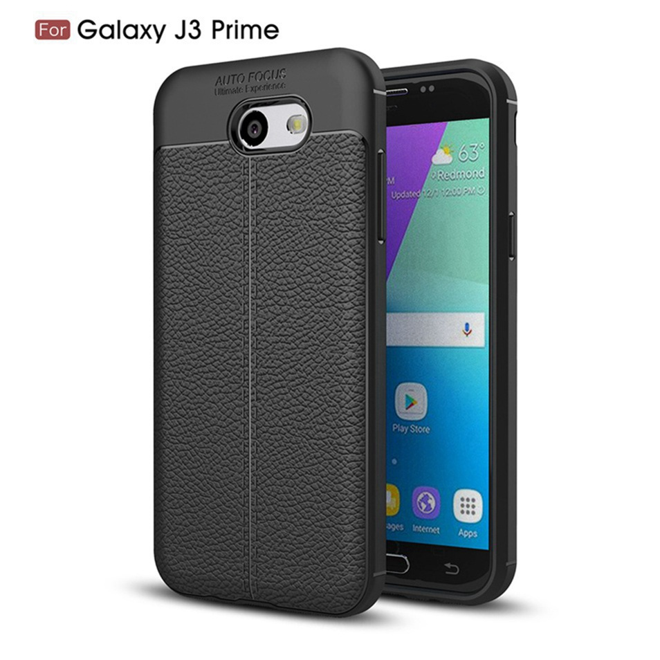 WhaY Explorer Case For Samsung Galaxy J3 Prime Cover Luxury Leather TPU Silicone Back Cover For Samsung J3 Prime Cases Fundas    (6)