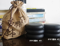 8pcs and cold energy lava oil SPA volcanic Hot stone acupuncture massage promoting blood circulation