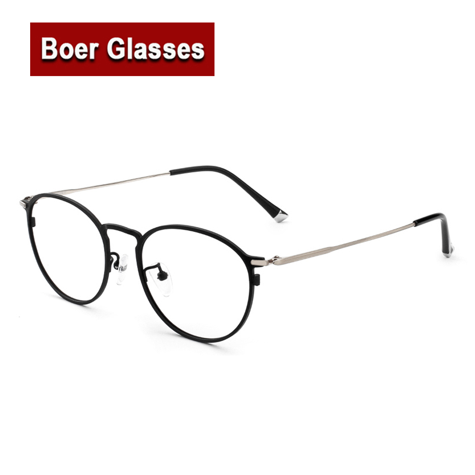 New arrived hot sale high quality Retro pure titanium full rim spectacles eyeglasses frame prescription glasses