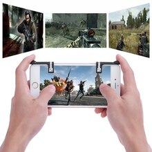 Botões de Disparo Jeebel Telefone Joystick Controlador Gamepad Jogo de Tiro Auxiliar Ferramentas Chave de Smartphones Para FPS TPS PUBG Móvel STG