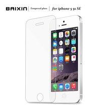 Baixin стекло-экран пленка защитная se закаленное очистки hd протектор комплект iphone
