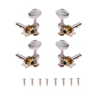Ostrich 2L2R Ukulele String Tuning Pegs Keys Tuners for Ukulele Guitar Parts Accessories