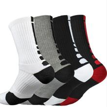 Mens cotton Middle Ankle Sock Quick Drying Sports Socks Professional cycling sock Size 6 11