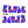 1 PCS Nail Stickers Flor Decalques de Transferência de Água Adesivos Decalques para Unhas Adesivos Para Unhas