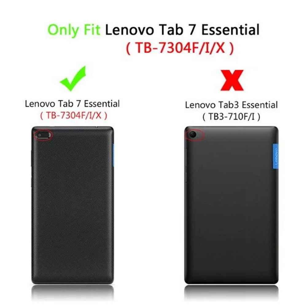 """Case Voor Lenovo TAB 7 Tab7 Essentiële TB-7304F 7304i 7304X7 """"Tablet Cover PU Leather Cases voor tab4 7 Tab 7304F 7 """"Tablet Funda"""