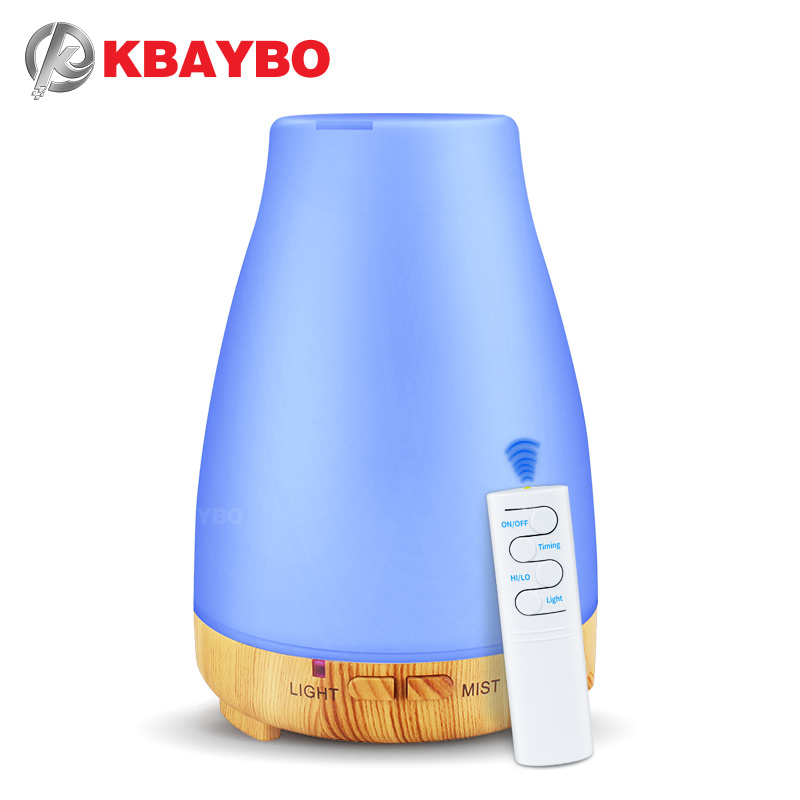 Difusor teledirigido del aceite esencial del humectador del aire del difusor del aroma de 200 ml USB con la luz de 7 colores LEVARAM