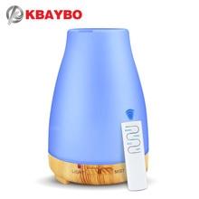 Difusor teledirigido del aceite esencial humectador aire difusor aroma de 200ml USB con la luz 7 colores LED