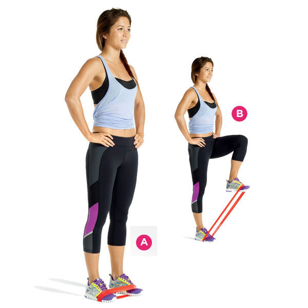 Купить с кэшбэком green and blue combination  latex resistance bands  workout excercise pilates yoga bands loop wrist ankle elastic belt