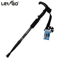 Anti Shock Hiking Walking Trekking Trail Poles Ultralight 4 Section Adjustable Canes Walking Sticks Outdoor 1