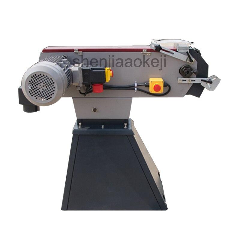 Vertical Metal Belt Sander BG-75 Belt Surfact Grinding Machine Sand band machine Industrial Belt Grinding Machine 220v 3000w 1pc