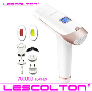 Image 3 - Lescolton 7in1 6in1 5in1 4in1 IPL אפילציה קבוע לייזר שיער הסרת 1900000 פולסים depilador לייזר ביקיני Photoepilator