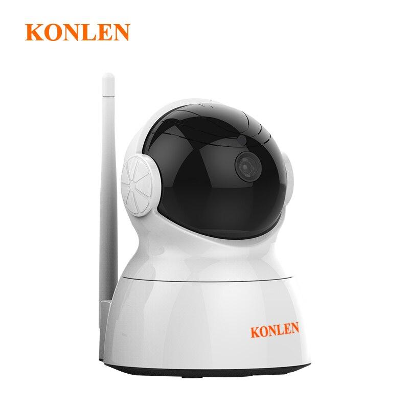 "KONLEN 2MP フル Hd 1/2。 7 ""CMOS セキュリティホーム Ip カメラ 1080P 無線 LAN 有線監視 CCTV PTZ オーディオ TF カード新 2018  グループ上の セキュリティ & プロテクション からの 監視カメラ の中 1"
