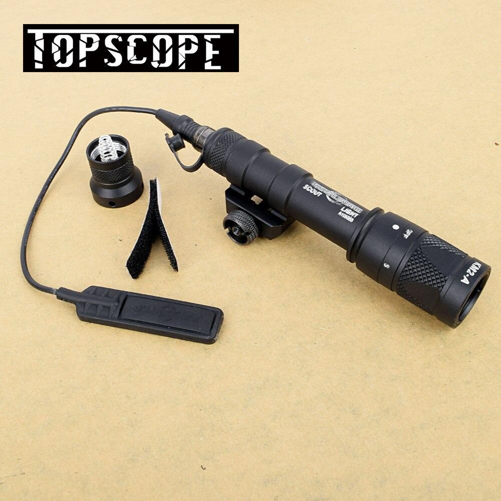 M600 M600V Ultra Scout lumière Arma chasse stroboscope Surefir lampe de poche pistolet arme lumière mont pour 20mm tisserand Picatinny Rail