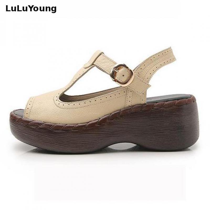 여성 신발 2018 여름 하이힐 정품 가죽 sandalias 하이힐 샌들 여성-에서하이힐부터 신발 의  그룹 2