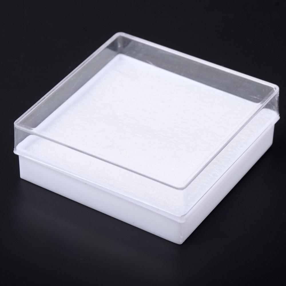 Lot Of 5pcs White Cotton Filled Boxes Jewelry Gift Boxes Bracelet Bangle Boxes