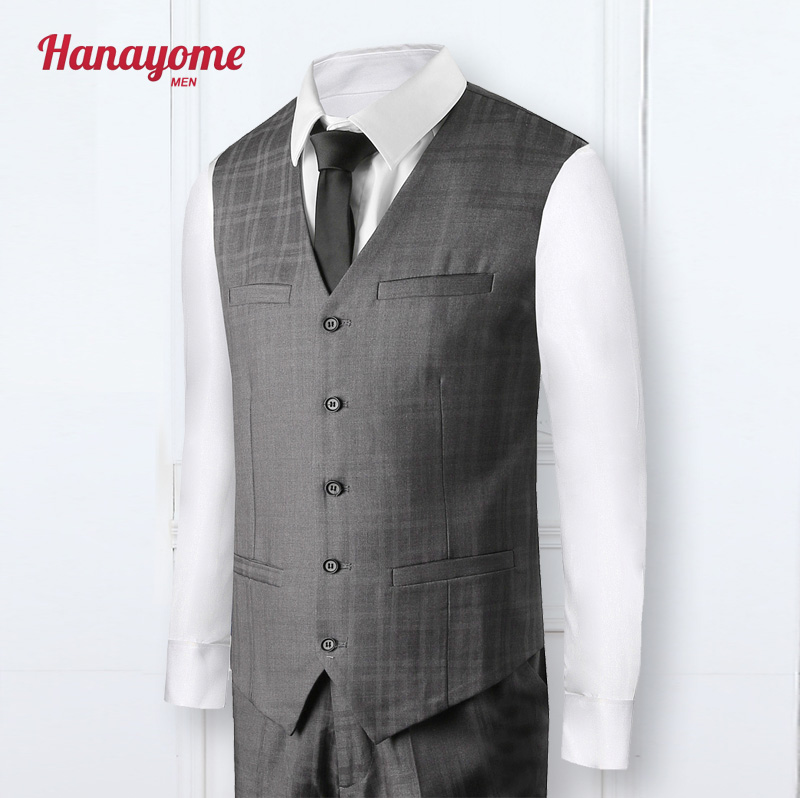 2017 New Arrival Studio Apparel Vintage England Style Striped Suit Men Double-breasted Wedding Suits For Male Suit SI14