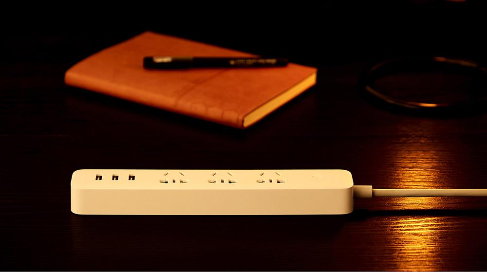 Original Xiaomi Smart Power Socket Strip Plug Adapter with 3 USB Port Smart APP Control (15)