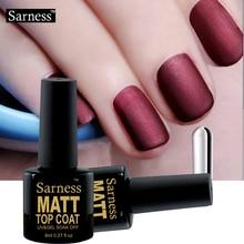 Sarness Matt Top Coat Gel Polish Lacquer