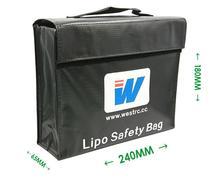 LiPo гвардии Lipo Батарея безопасности сумка взрывозащищенный Анти Взрыв несгораемый сумка большая Размеры 240*180*65
