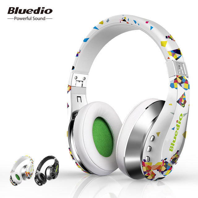 Bluedio Air Bluetooth наушники складные BT4.1 Стерео беспроводные наушники для телефонов и музыкальные наушники с микрофоном