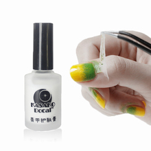 Peel Off Liquid nail art Tape Latex Tape & finger skin protection liquid Palisade Easy clean Base Coat care nail polish