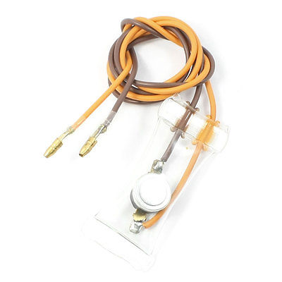 KSD-WB Model 2 Wire Lead Minus 7C Normal Open Refrigerator Defrost Thermostat ac 250v 10a 7 celsius bimetal refrigerators defrost thermostat fusen13 4