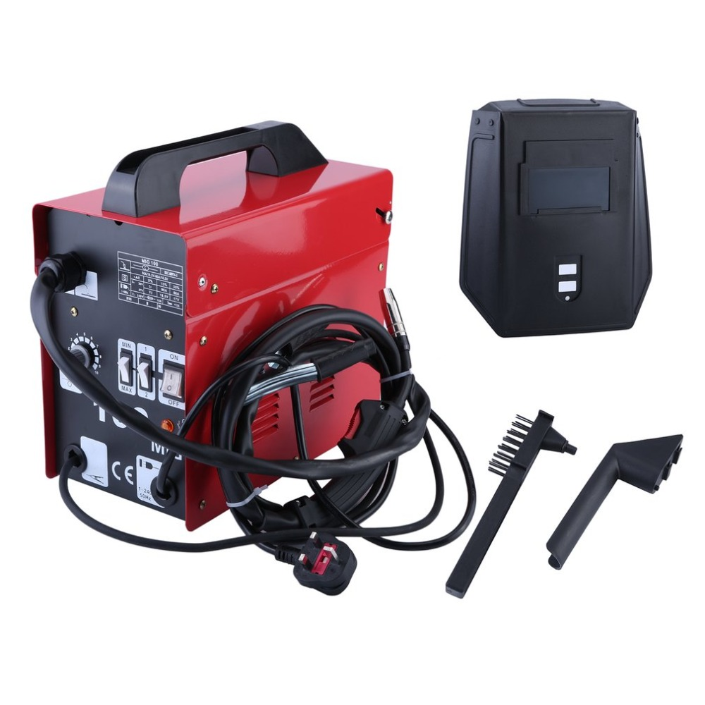 MIG-100 High Performance Gas-Shielded Welding Machine Professional Stable Efficient Mig Weldering Equipment UK Plug stable