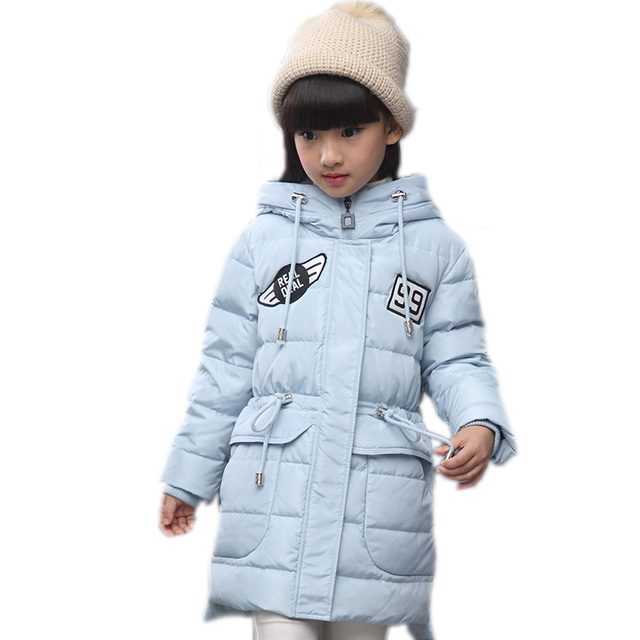 Aliexpress.com : Buy 2017 Children duck down coat long hooded ...