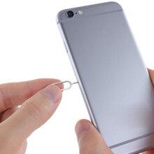 10 шт. инструмент для снятия sim-карты со смартфона, сменные иглы, запчасти для sim-карты для iPhone 7 Plus 6s Plus SE 5S