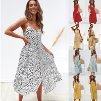 100 Percent Cotton Dress Women Casual Summer Dress Single Row Button Dresses Woman Party Night Bodycon Sexy Plus Size Empire