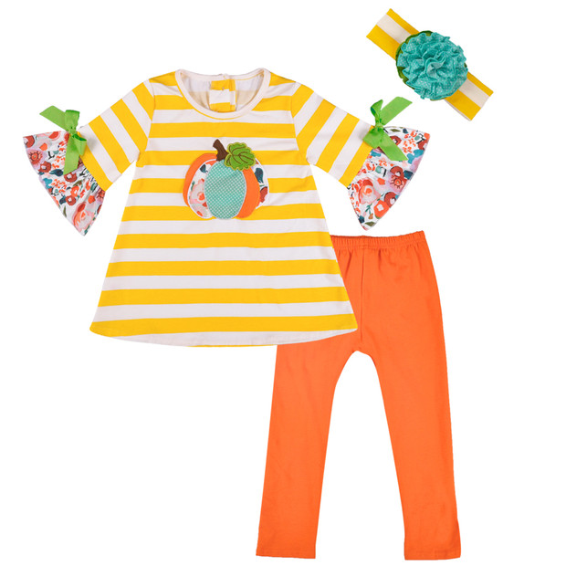 Conice Nini Halloween Pumpkin Baby-Girls Cotton New Born-Boutique