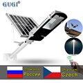 Светодиодный уличный светильник на солнечной батарее 100 Вт, большая водонепроницаемая солнечная панель, пульт дистанционного управления