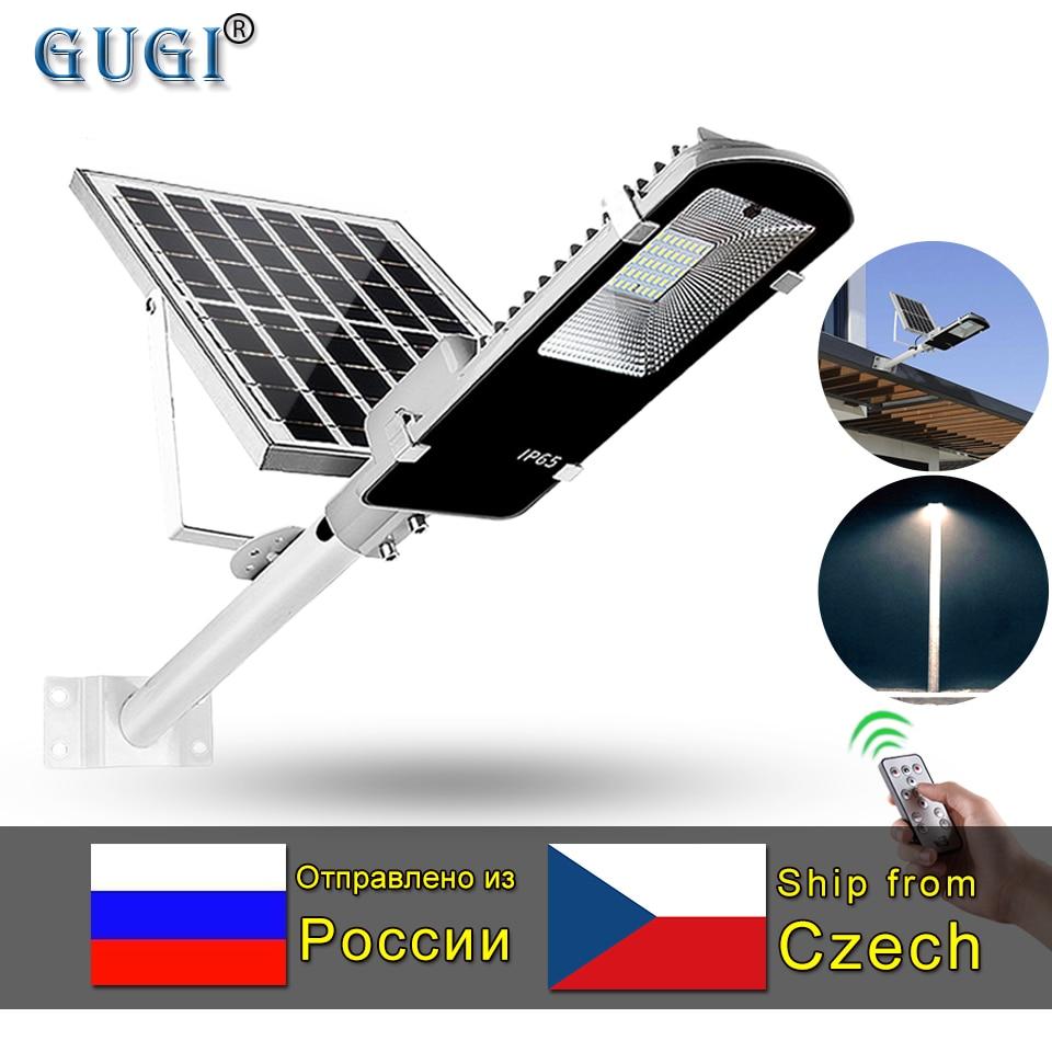 Led Solar Street light Outdoor Led Solar Light Waterproof large Solar Panel Remote Control 100 W