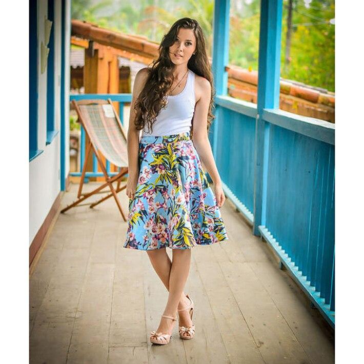 Summer Skirts Midi - Dress Ala