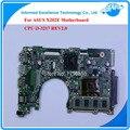 Para asus x202e q200e cpu motherboard rev2.0 i3-3217 integrado 2 gb ram placa principal totalmente testado