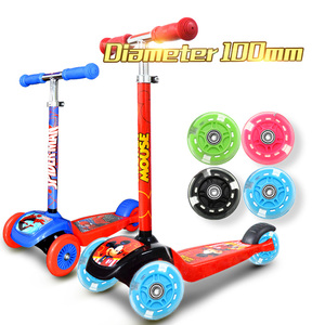 4 Color 100mm Scooter Wheel LE