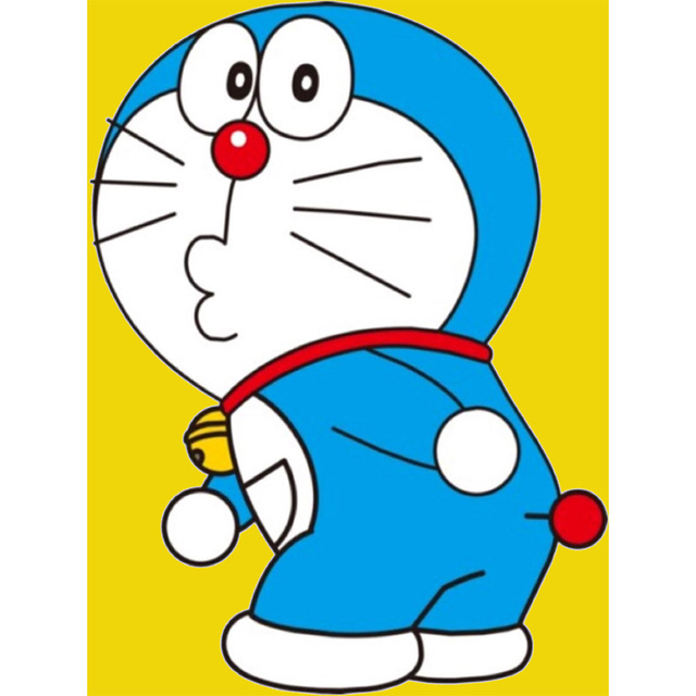 Lukisan Doraemon Cikimm Com