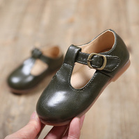 2019 Brand New Fashion Girls' Dance Leather Shoes For Bady Kids Toddler Little Girl Princess Wedding Party Shoes