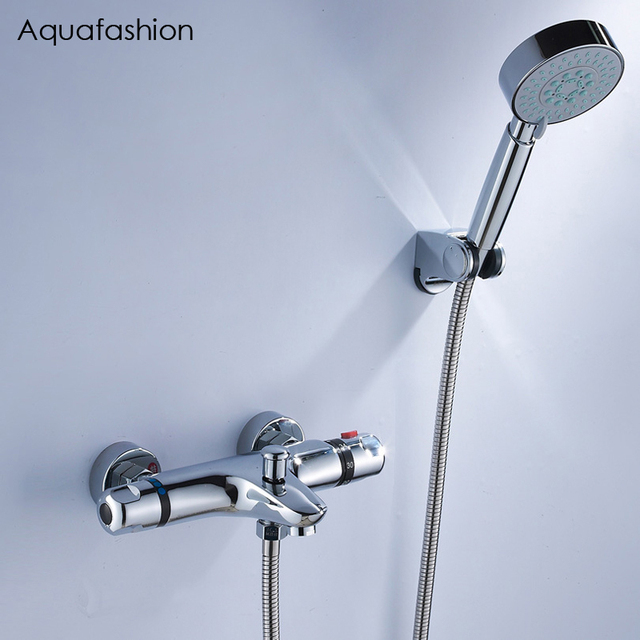 Shower Faucet Sets Modern Thermostatic Bathroom Bath Mixer Tap Valve