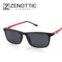 2017 Fashion Design Unisex Magnetic Clip On Polarized Sunglasses Tr90 Super Ultra Light Optical Frame Eyeglasses