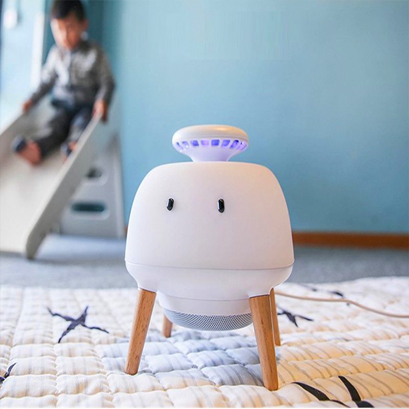 Holiday Gift Cute Led Elf Mosquito Lamp Automatic Intelligent Creative Nightlight For Children Bedroom Decoration
